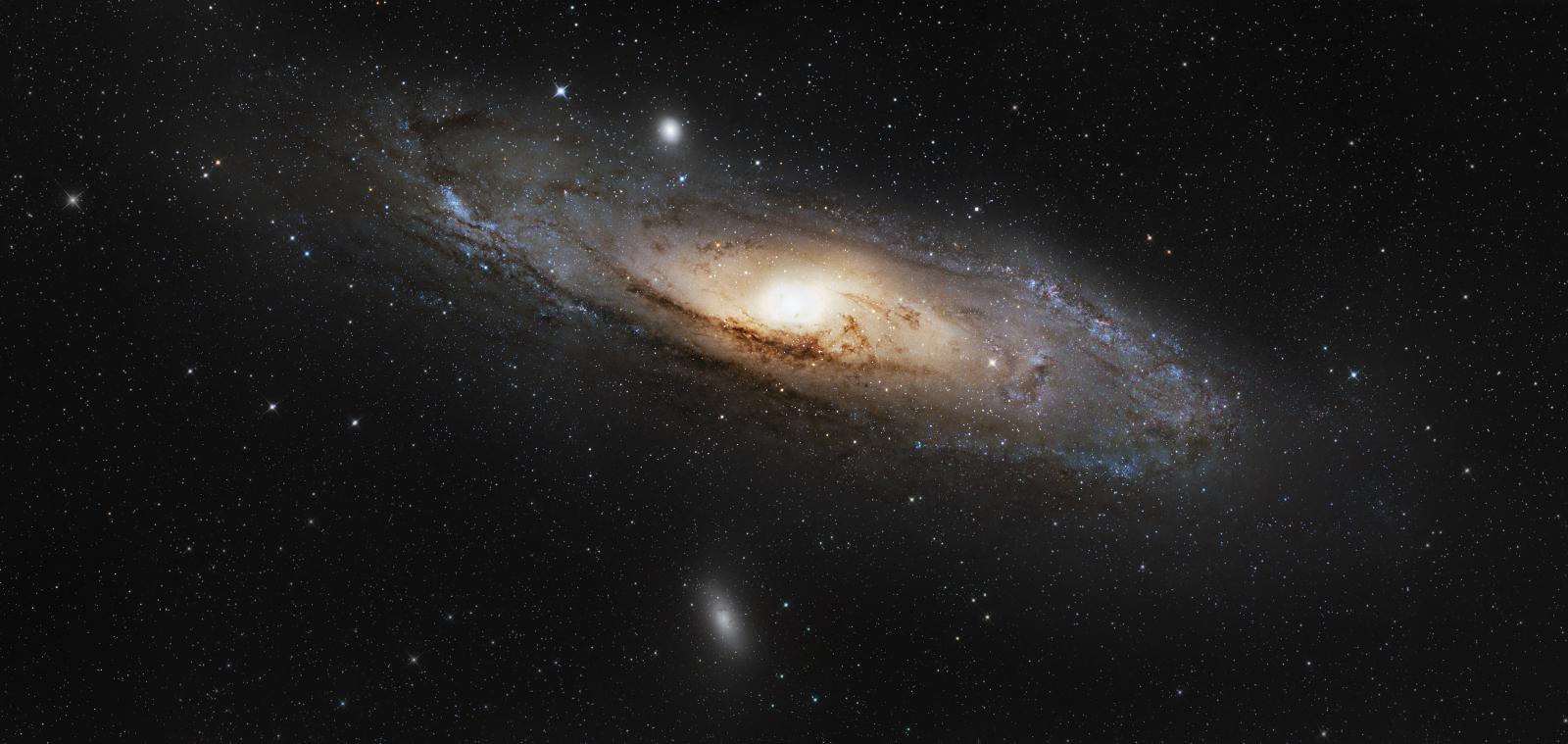 Mosaic of the Andromeda Galaxy - M31, NGC224